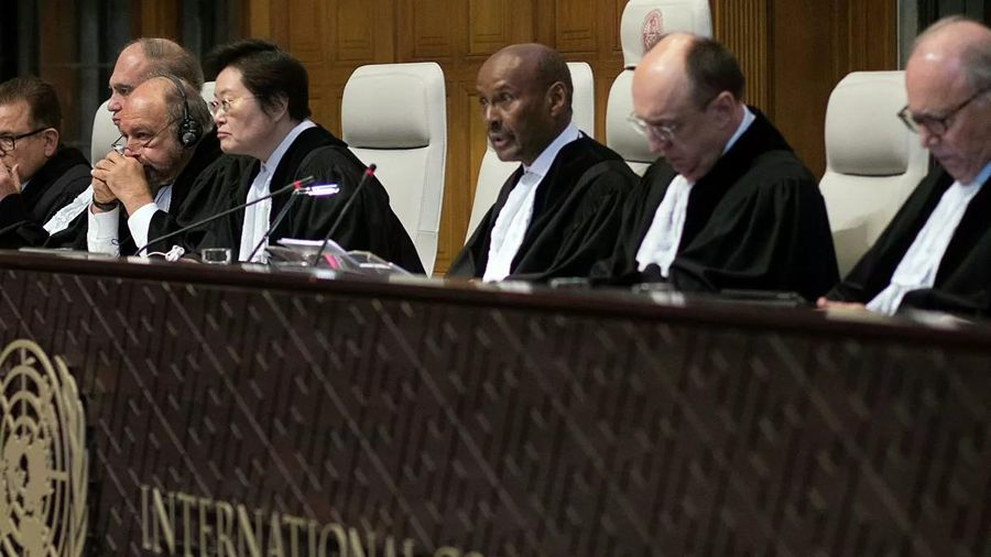 Nga và Ukraine 'bế tắc' vì vụ việc eo biển Kerch tại phiên tòa ở Hague