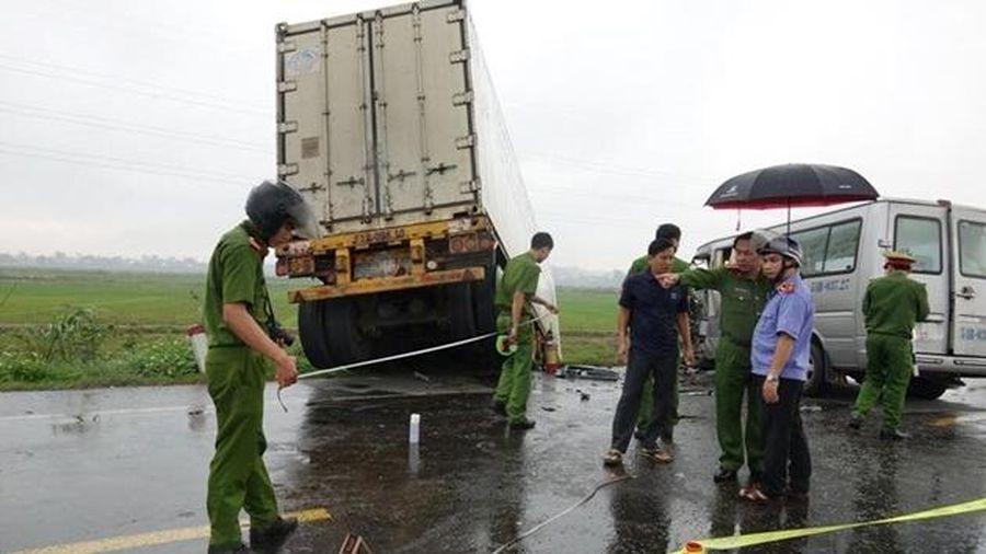 Đã xác định được tốc độ của xe chở các nhà sư lấn làn gây tai nạn kinh hoàng
