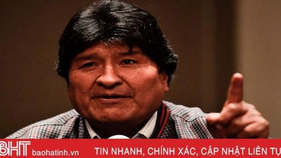 Bolivia ra dự luật ngăn cựu tổng thống Morales tranh cử