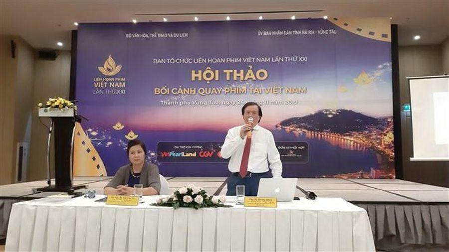 Liên hoan phim Việt Nam lần thứ 21: Quảng bá bối cảnh quay phim