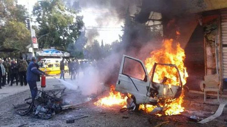Đánh bom ở Syria, ít nhất 9 người thiệt mạng