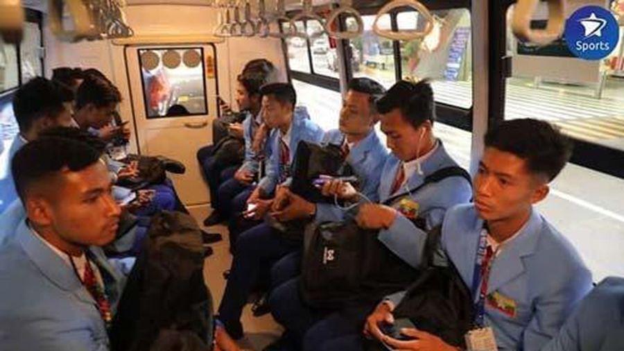 Bất ngờ: U22 Campuchia phải ngủ đất vì chủ nhà Philippines hết phòng