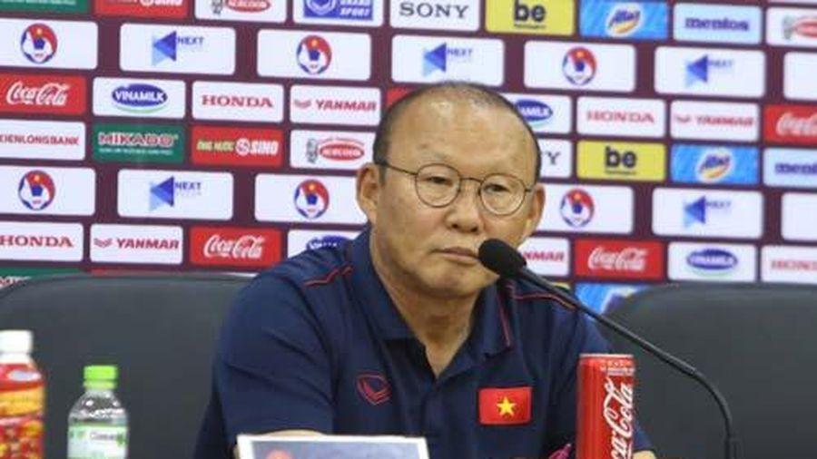 HLV Park Hang-seo: 'U22 Việt Nam phải thi đấu thật sáng suốt'