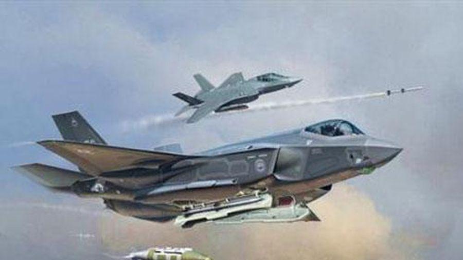 F-35I tập tấn công S-400