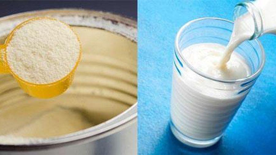 Trẻ đủ tuổi uống sữa tươi là không cần sữa bột: Nên hay không?