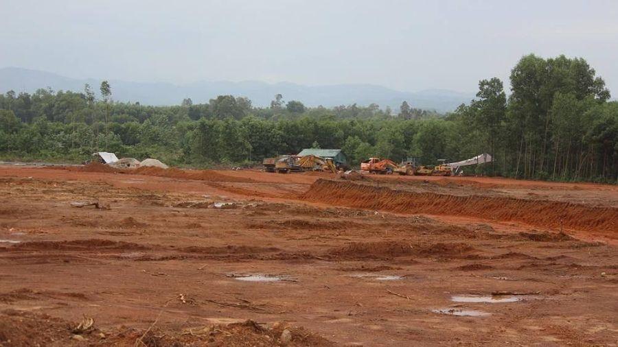 Áp lực GPMB, khu tái định cư cao tốc Cam Lộ - La Sơn còn ngổn ngang