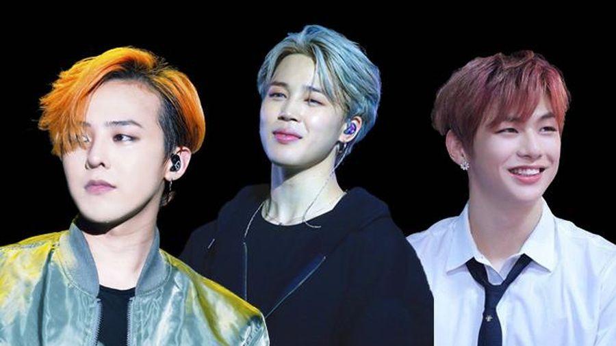 Vừa xuất ngũ, G-Dragon đã lọt top thương hiệu tháng 11 cùng Jimin (BTS) và Kang Daniel