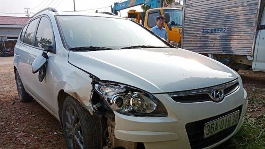Thanh Hóa: Chủ tịch xã điều khiển ôtô gây tai nạn rồi rời khỏi hiện trường