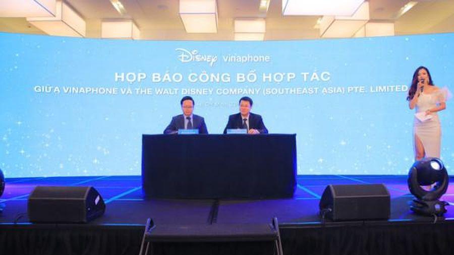 VinaPhone bắt tay Disney phát triển nội dung số cho trẻ nhỏ