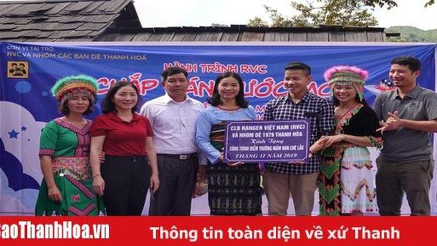 Khánh thành, bàn giao điểm trường mầm non bản Ché Lầu, xã Na Mèo (Quan Sơn)