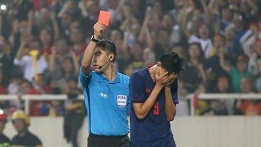 Cầu thủ Thái Lan đấm Đình Trọng trên sân Mỹ Đình được xóa án