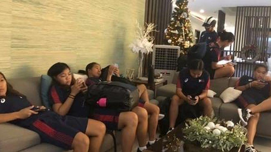 Ngôi sao tuyển nữ Philippines cũng 'nổi giận' với BTC SEA Games