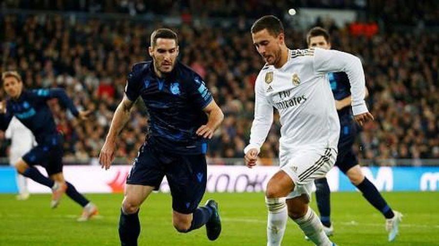 Ngược dòng hạ Sociedad, Real tiếp tục bám đuổi Barca
