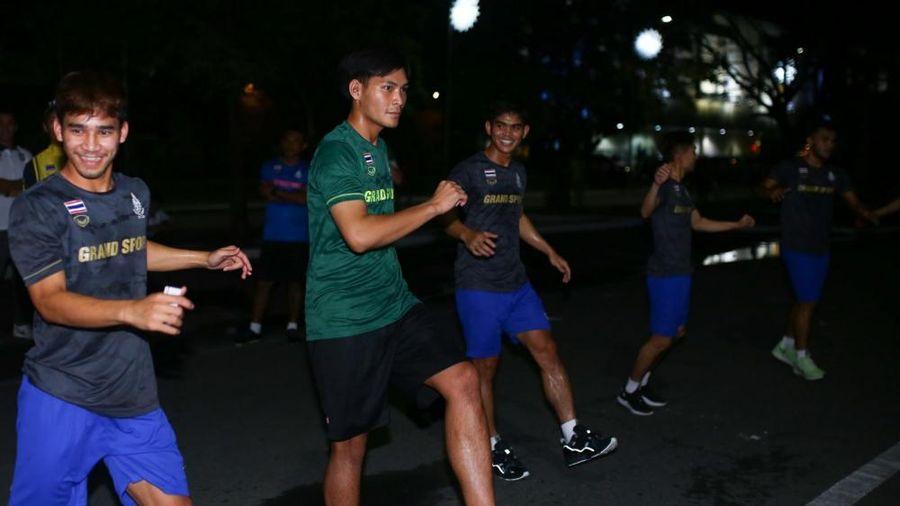 Gặp sự cố đầu tiên, U22 Thái Lan 'than trời' về công tác tổ chức SEA Games 30