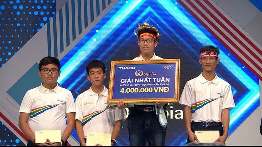 10x Hà Nội giành vòng nguyệt quế Olympia sau 4 vòng 'bất bại'