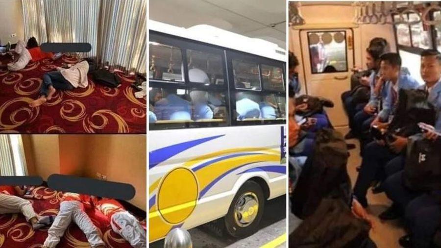 Cầu thủ ngủ vạ vật, khổ sở di chuyển, Ban tổ chức SEA Games 30 nhận lỗi