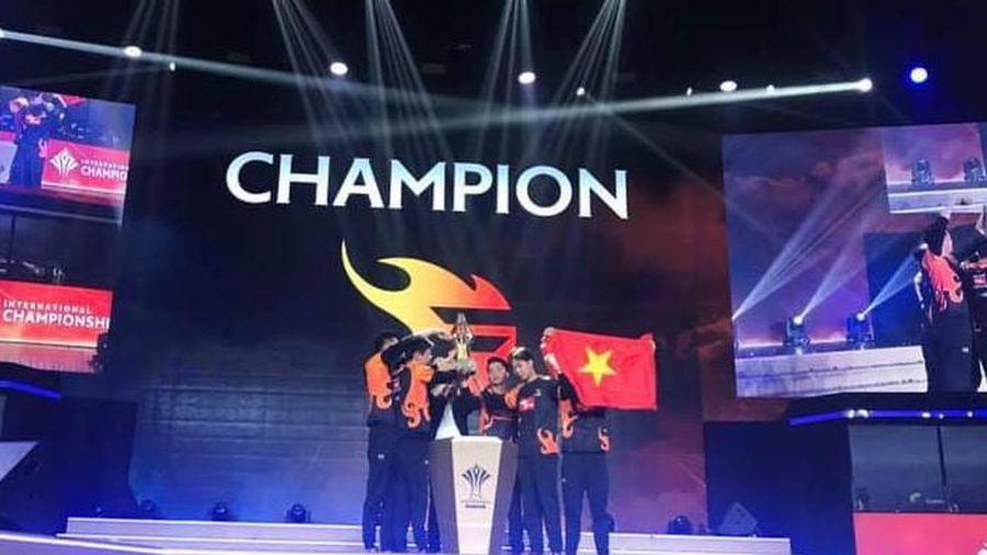 Team Flash xuất sắc đăng quang AIC 2019 bằng phong độ thi đấu hủy diệt
