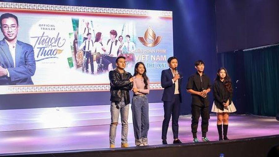 Sinh viên Vũng Tàu hào hứng giao lưu cùng các nghệ sĩ điện ảnh Việt