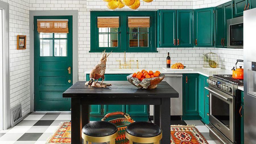 Ý tưởng thông minh trong tổ chức và lưu trữ với những nhà bếp mang phong cách chiết trung