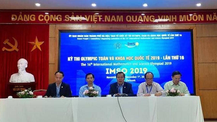 Hà Nội lần đầu đăng cai tổ chức Kỳ thi Olympic Toán học và Khoa học quốc tế - IMSO 2019