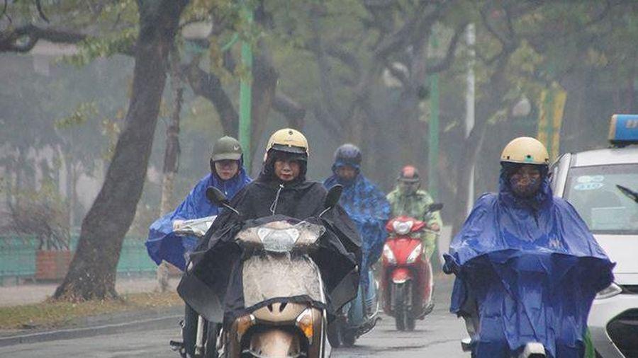 Dự báo thời tiết: Chiều nay, Bắc bộ có mưa, trời chuyển rét do không khí lạnh