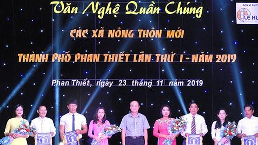 Phan Thiết (Bình Thuận): Liên hoan văn nghệ các xã nông thôn mới
