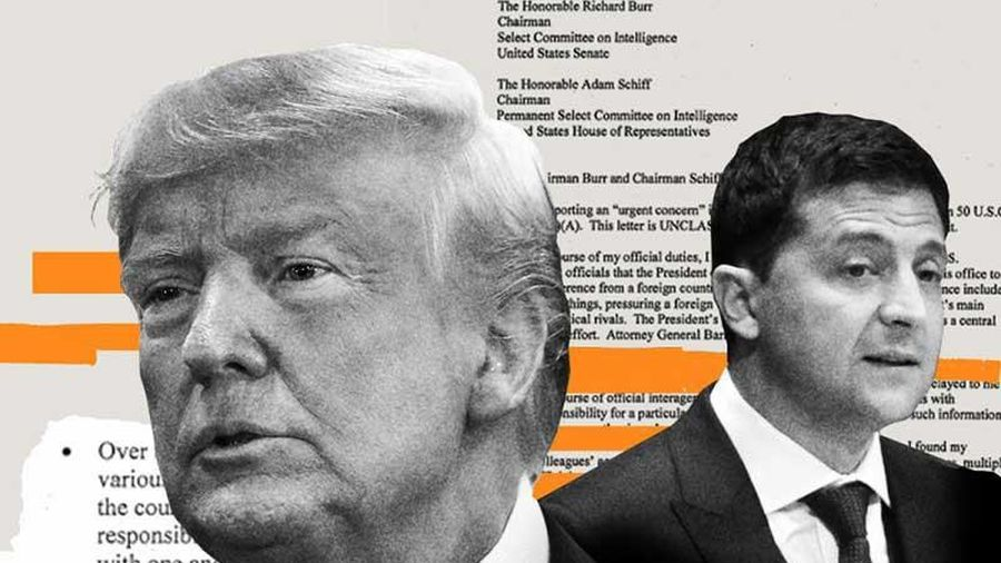 Tam giác Mỹ-Ukraine-Nga khi việc luận tội ông Trump kéo dài