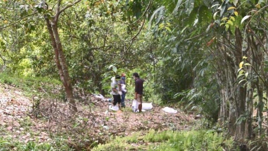 Bộ xương người ở Bình Phước đã tìm thấy phần đầu