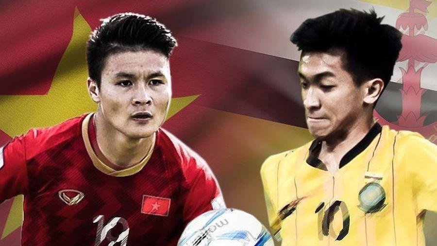 Việt Nam áp đảo hoàn toàn Brunei tại SEA Games