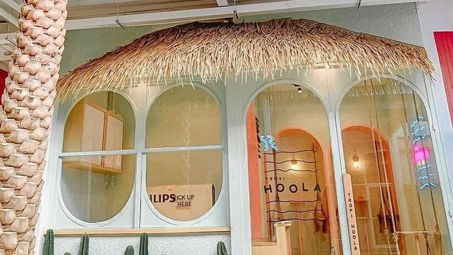 Tiệm cà phê phong cách Hawaii mới mở ở Thái Lan