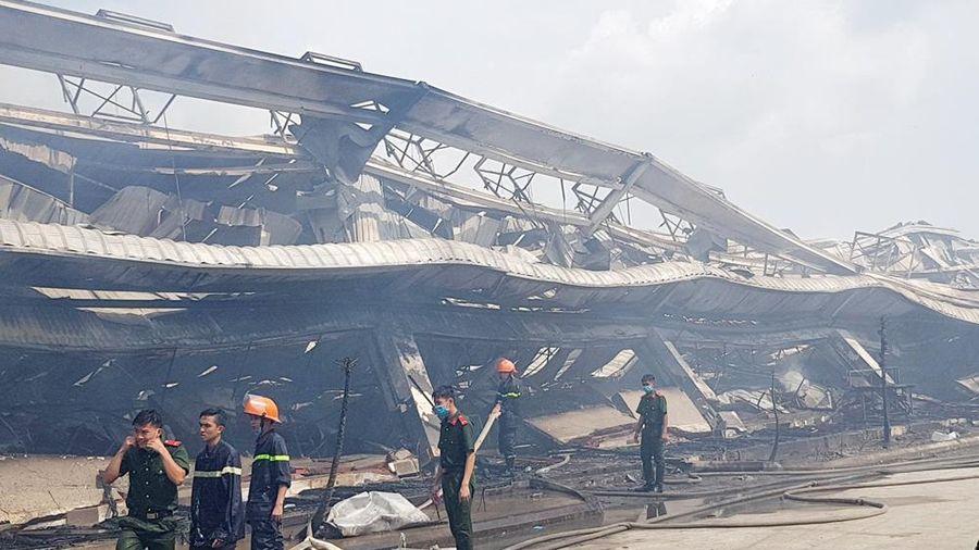 Vụ cháy Công ty May Nhà Bè - Sóc Trăng gây thiệt hại hơn 180 tỷ