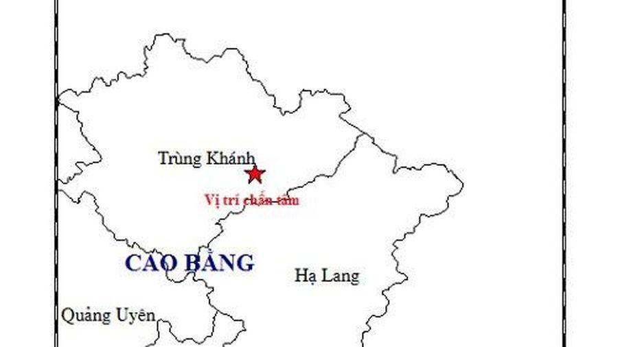 Động đất lần thứ 2 ở Cao Bằng