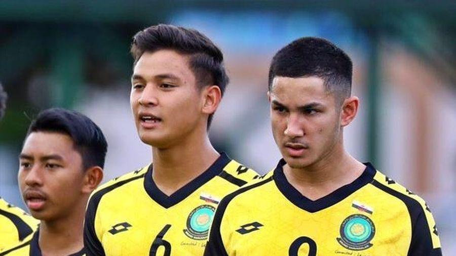 Ngôi sao số một Brunei đá chính dù không có tên trong đội hình ra sân