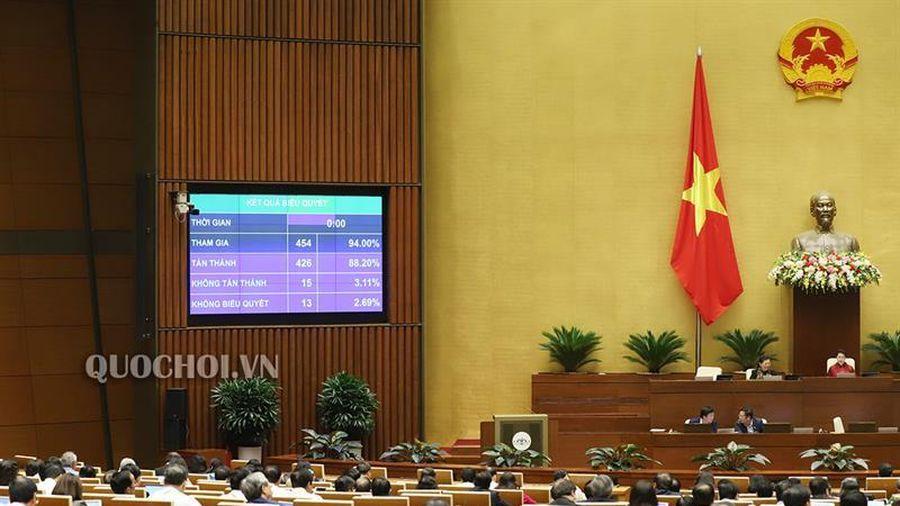 Quốc hội thông qua Luật sửa đổi, bổ sung một số điều của Luật Cán bộ, công chức và Luật Viên chức