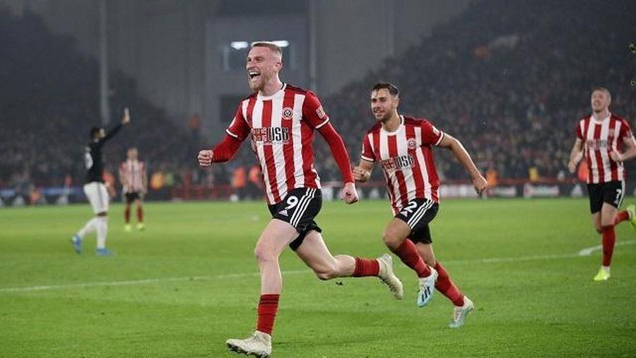 Man United chia điểm kịch tính trên sân của Sheffield
