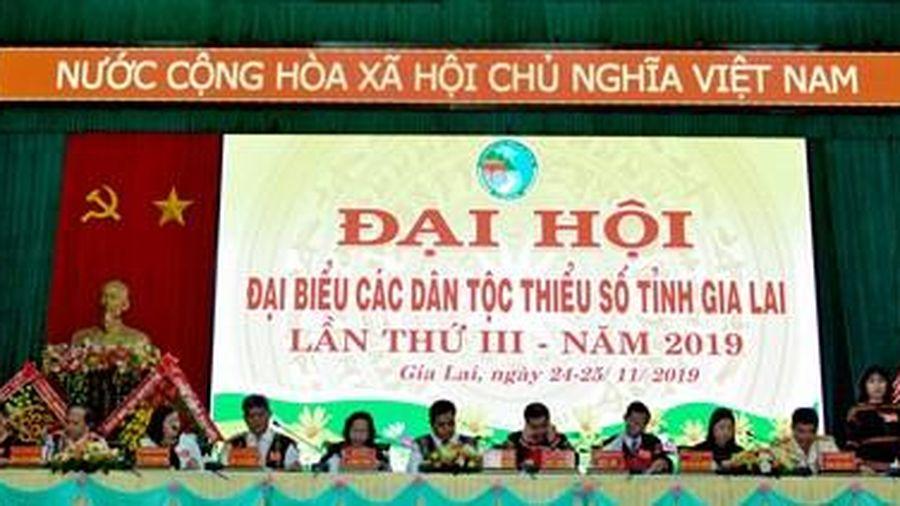 Đại hội đại biểu các dân tộc thiểu số tỉnh Gia Lai lần thứ III