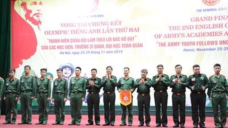 Bộ Tổng Tham mưu khai mạc Hội thi Olympic tiếng Anh lần thứ hai