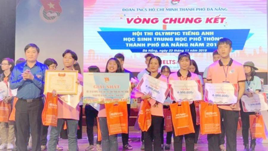 Hội thi Olympic Tiếng Anh TP Đà Nẵng lần I: Trường THPT Cẩm Lệ đạt giải nhất