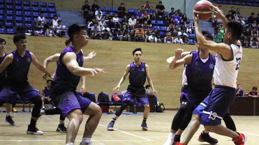 200 VĐV tham dự giải bóng rổ các CLB TP Đà Nẵng 2019