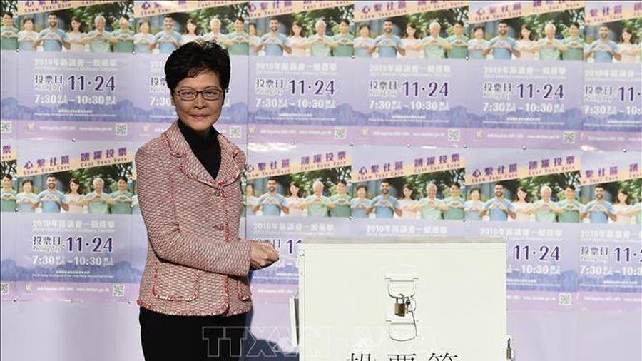 Hồng Công bầu cử hội đồng quận