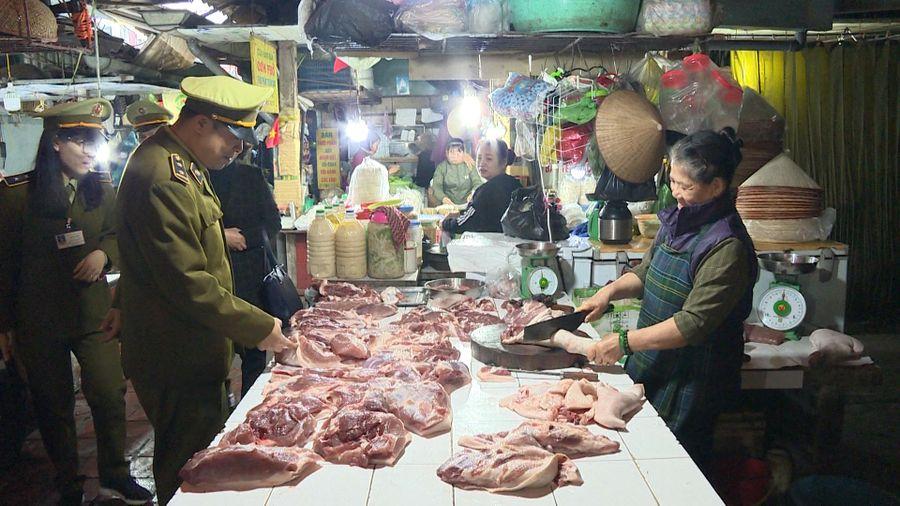Tăng cường kiểm tra, kiểm soát chống buôn bán, vận chuyển lợn, sản phẩm từ lợn nhập lậu