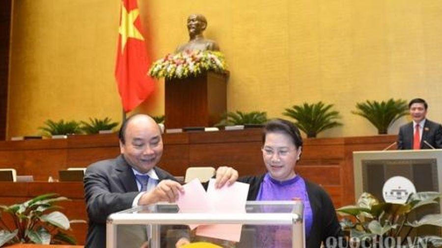 Quốc hội bầu Ủy viên UBTV Quốc hội; Chủ nhiệm Ủy ban Pháp luật của Quốc hội