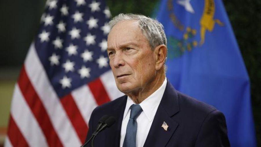 Tỷ phú Michael Bloomberg chính thức bước vào cuộc đua tới Nhà Trắng