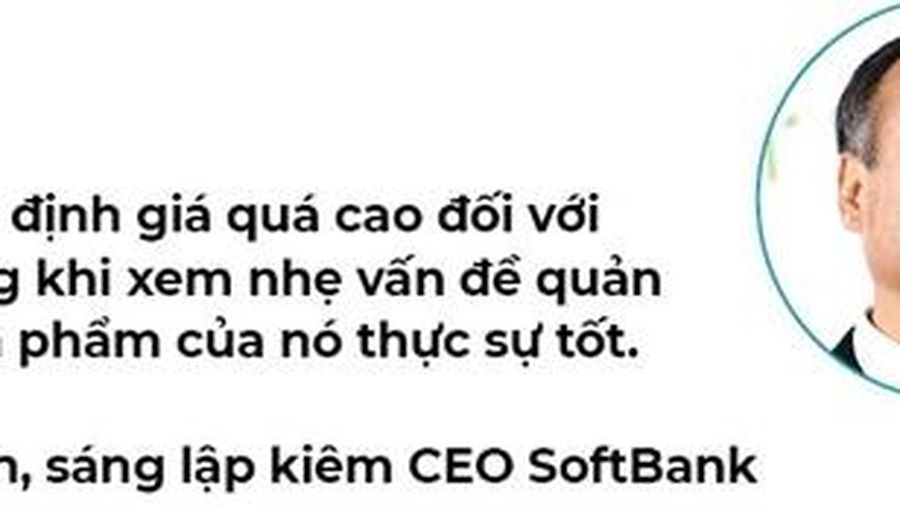 SoftBank khó thở