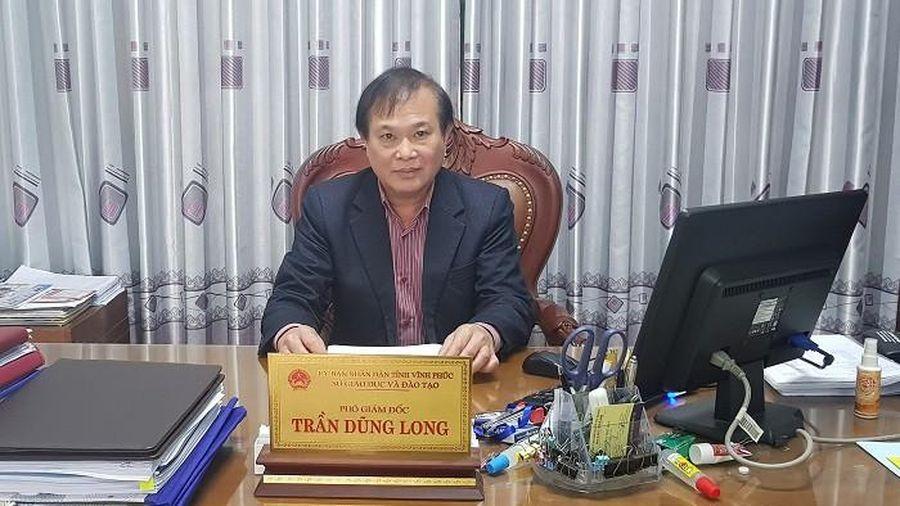 Xôn xao clip thầy dạy võ đạp học sinh, lãnh đạo Sở GD&ĐT Vĩnh Phúc 'lên tiếng'