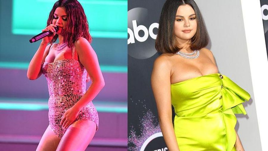 Selena Gomez o ép vòng một 'khủng' tại American Music Awards 2019