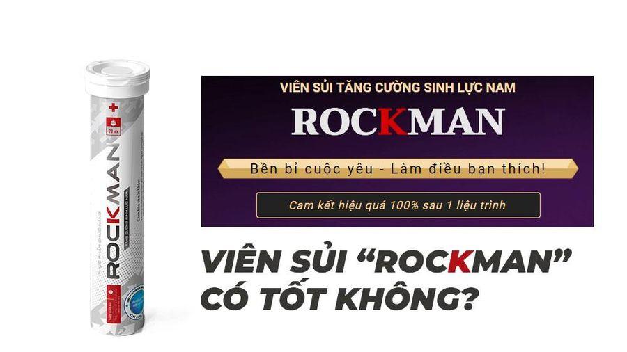 Thu hồi hiệu lực Giấy xác nhận nội dung quảng với sản phẩm Rockman