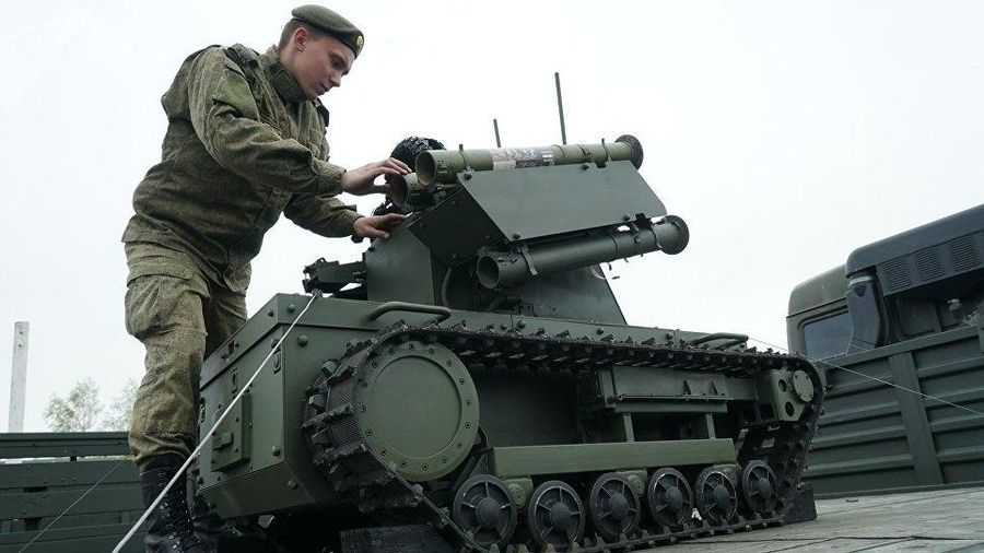 Nga đề xuất thành lập các đơn vị lính robot