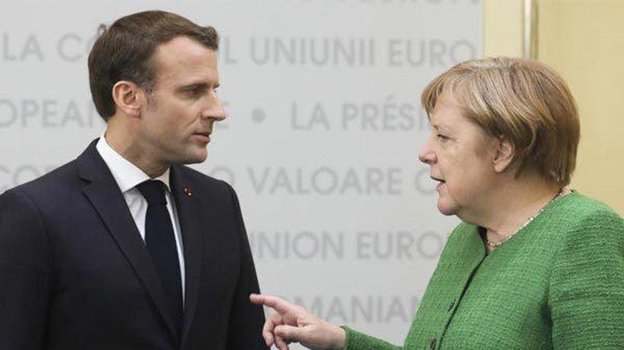 Lãnh đạo Đức, Pháp khẩu chiến dữ dội trước thượng đỉnh NATO