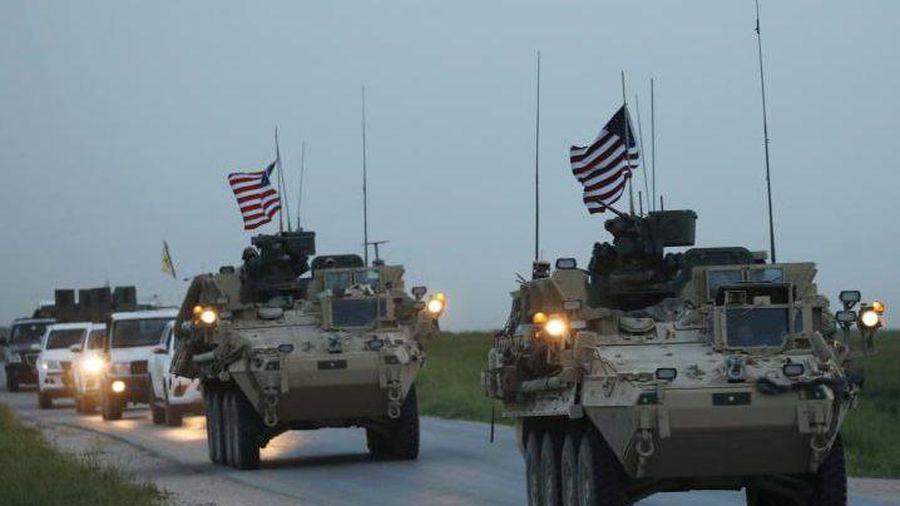 Quân đội Mỹ hành động 'bất thường' chỉ cách căn cứ quân sự Nga ở Syria 3 km